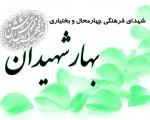 شهدای فرهنگی  استان